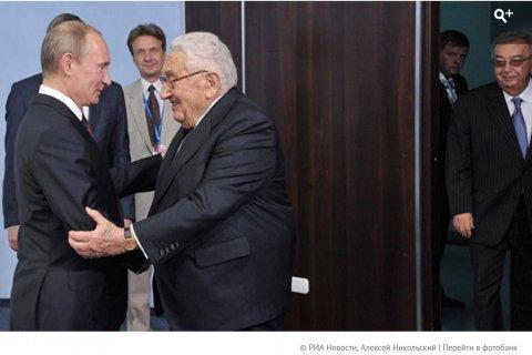 Иносми: Генри Киссинджер призывает Дональда Трампа признать влияние России на постсоветском пространстве