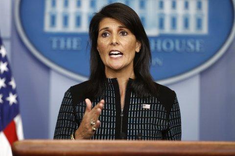 Постпред США: КНДР будет уничтожена, если продолжит «безрассудное поведение». Тиллерсон предложил Китаю использовать «рычаги»