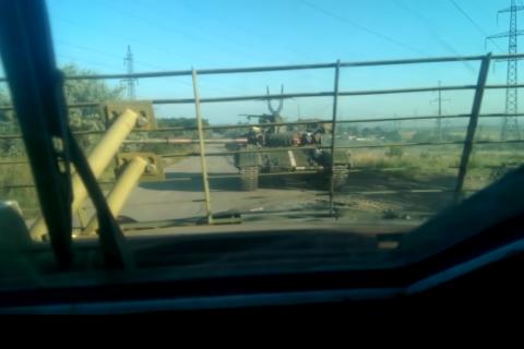 Опубликовано видео обстрела украинской армией домов в Первомайске