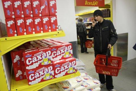 В России выросли цены на сахар