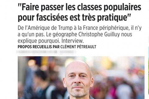 Le Point: Весьма практично выдавать протестующие народные массы за фашиствующие