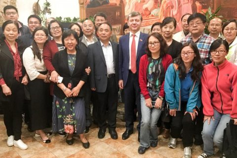 Китайские ученые-марксисты приехали в Россию