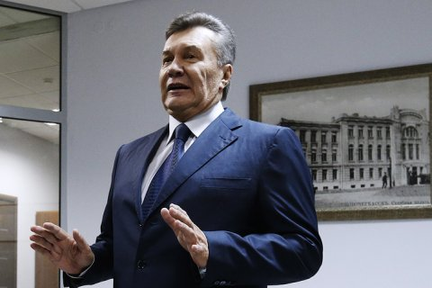 Янукович рассказал о надеждах на возвращение Крыма в состав Украины