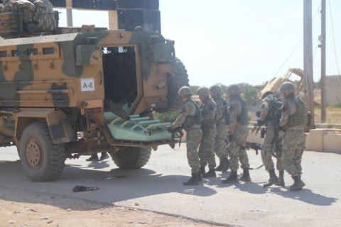 Турецкая армия потеряла в Сирии 14 солдат убитыми
