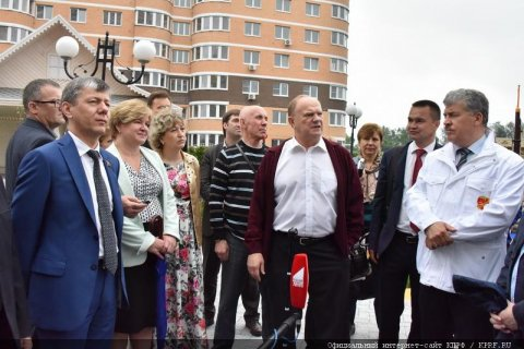 Геннадий Зюганов представил пример успешного народного предприятия