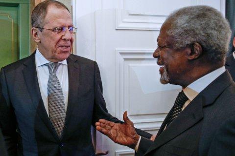 Кофи Аннан: Без сотрудничества России и США сирийский вопрос не решить