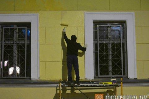 В Петербурге демонтировали мемориальную доску Маннергейму