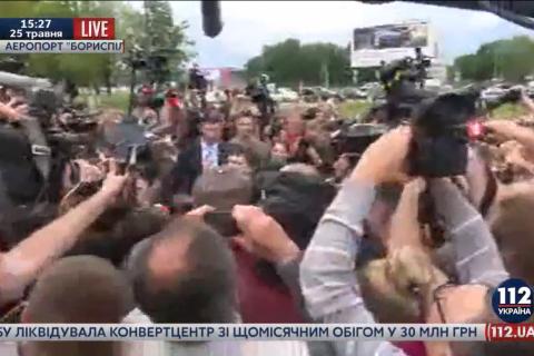 У Надежды Савченко после приземления началась истерика