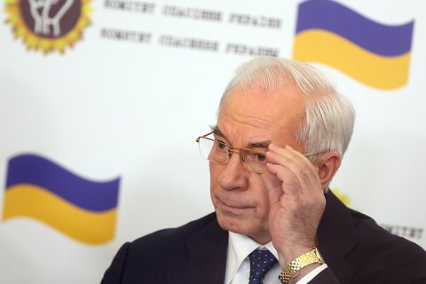 Экс-премьер Украины Азаров допустил создание правительства в изгнании