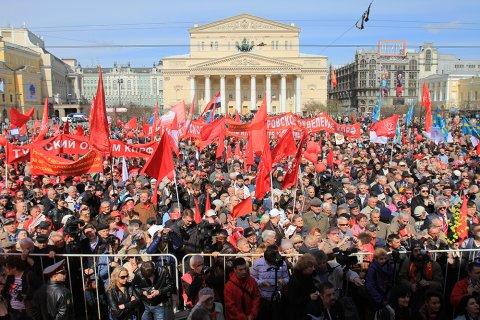 КПРФ подала заявки на проведение митингов после выборов