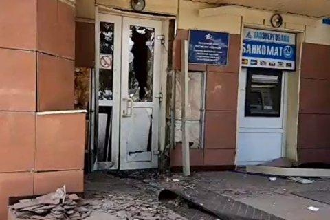 В Калуге неизвестные взорвали вход в Пенсионный фонд