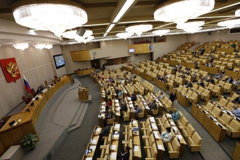 Госдума приняла в первом чтении закон о контрсанкциях. Кремль – против