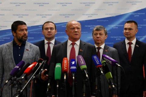 Геннадий Зюганов: Олигархи и чиновники пухнут на деньгах пенсионеров