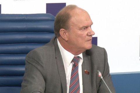 Зюганов: народно-патриотические силы могут получить большинство в Госдуме