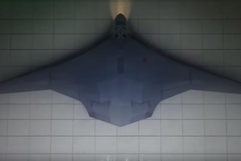 В России создан макет нового стратегического бомбардировщика