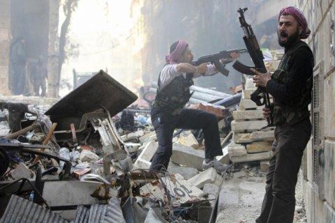 Исламистские мятежники при поддержке Турции начали наступление в Алеппо