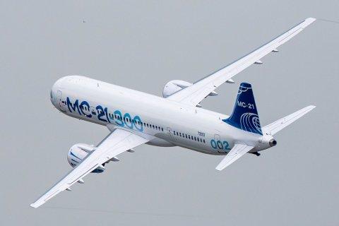 Стоимость разработки лайнера МС-21 составит полторы олимпиады