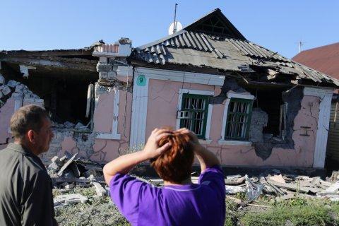 За выходные Донбасс подвергся массовым обстрелам