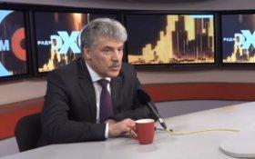 Павел Грудинин: Я могу победить и занять первое место