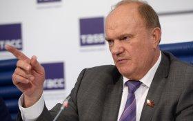 Геннадий Зюганов предложил кандидатам в президенты обсудить реальные проблемы страны
