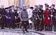 Кадыров пришел на прием с копьем и в доспехах. Видео