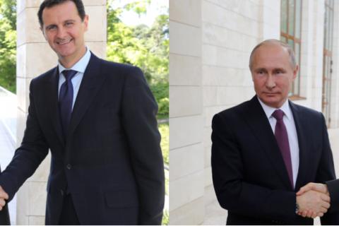 Найдите 10 отличий. Путин встретился с Президентом Сирии Асадом