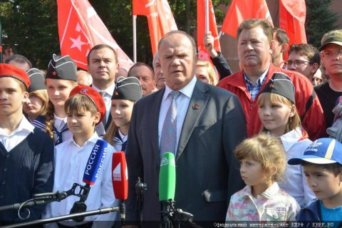Геннадий Зюганов: Сегодня безопасность страны снова под угрозой