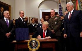 Трамп объявил о победе над террористами в Сирии и Ираке. Потратили 14 млрд долларов