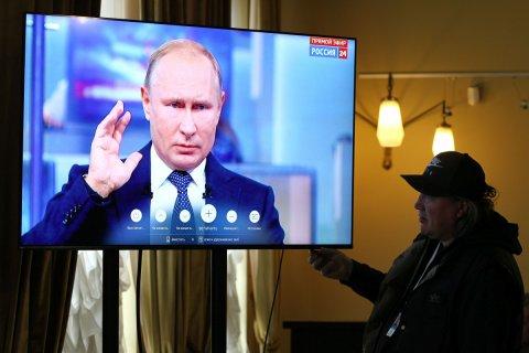 Прошедшая «Прямая линия» с Путиным стала самой непопулярной с 2011 года