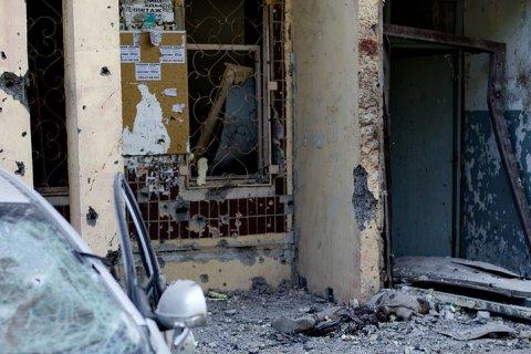 Донецк подвергся ночному обстрелу