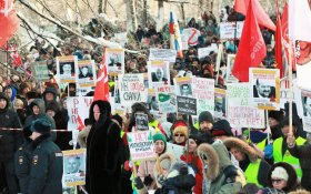 В городах России прошли акции протеста против «мусорной реформы»