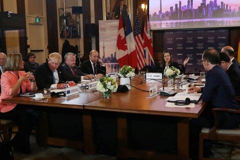 Главы МИД G7 договорились в Торонто защищать мировой порядок и противостоять России