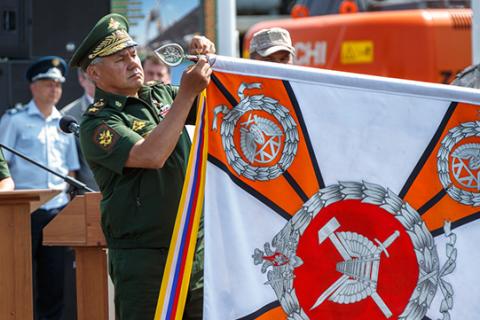Железная дорога в обход Украины введена в строй