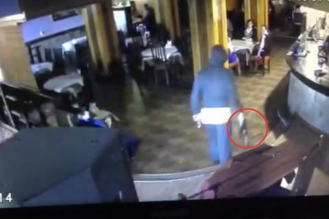 Покушение на чемпиона по тайскому боксу появилось на видео