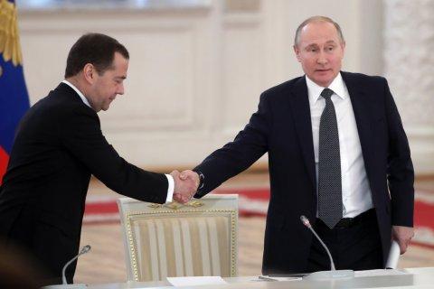 Более половины россиян не одобряют переназначение Медведева – «Левада-Центр»