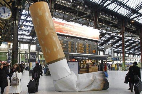 В России от курения умерло 283 тыс человек