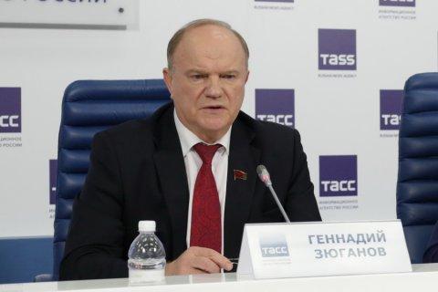 Геннадий Зюганов выразил соболезнования в связи с катастрофой Ту-154