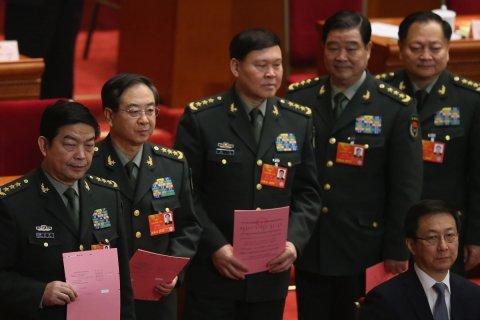 Генерал-полковник покончил с собой из-за обвинений в коррупции… в Китае