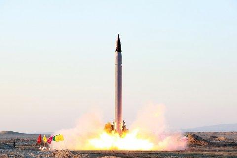 Иран признал испытание баллистической ракеты