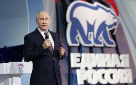 Песков: Путин – лидер «Единой России»