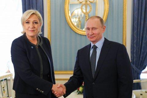 Эффект пропаганды: Если бы выборы прошли завтра, то Ле Пен победила бы Путина