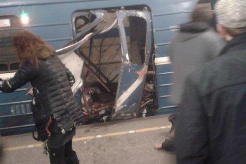 В Петербурге в вагоне метро прогремел взрыв. Есть пострадавшие