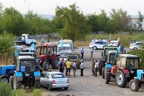Участники «тракторного марша» рассказали о новых нападениях на фермеров