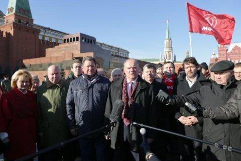 Геннадий Зюганов: Перезахоронить Ленина предлагают законченные мерзавцы