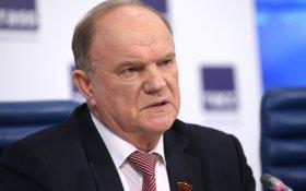 Геннадий Зюганов потребовал от Путина вмешаться в ситуацию с выборами в Приморье