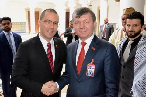 Дмитрий Новиков принял участие в инаугурации президента Венесуэлы Николаса Мадуро