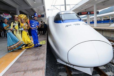 Китай создаст для России сверхскоростные поезда