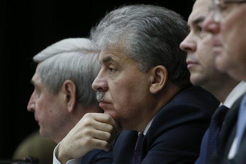 ЦИК разрешил открыть избирательный счет Грудинину, выдвинутому КПРФ на выборы президента