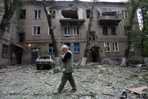Донецк подвергся массовым обстрелам
