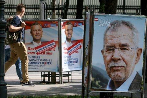 Выборы президента Австрии перенесены из-за плохого клея